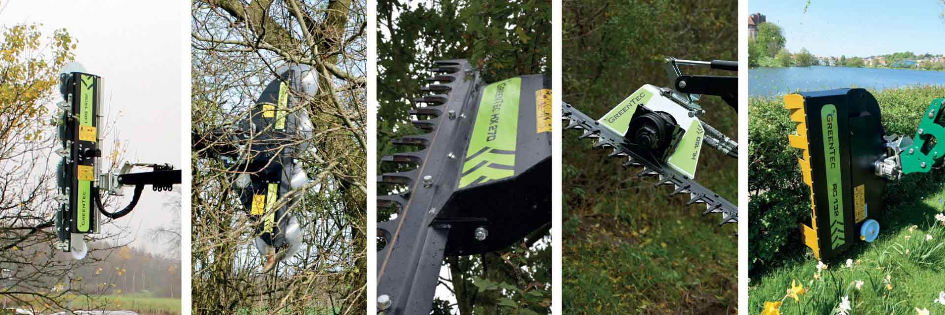 Click here for GreenTec's large selection of working tools that fits GreenTec Multi Carrier HXF & Spearhead Reach Arms
