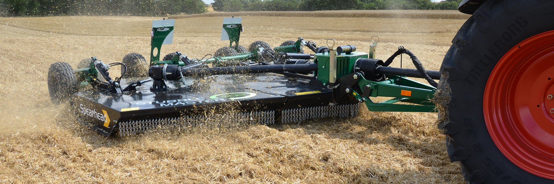 It is now more than 10 years since the first rotary mulcher designed to chop Stubble residue after harvest.