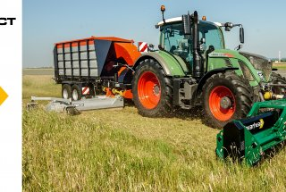 High Capacity - Cut and Collect Airfield Mowing System