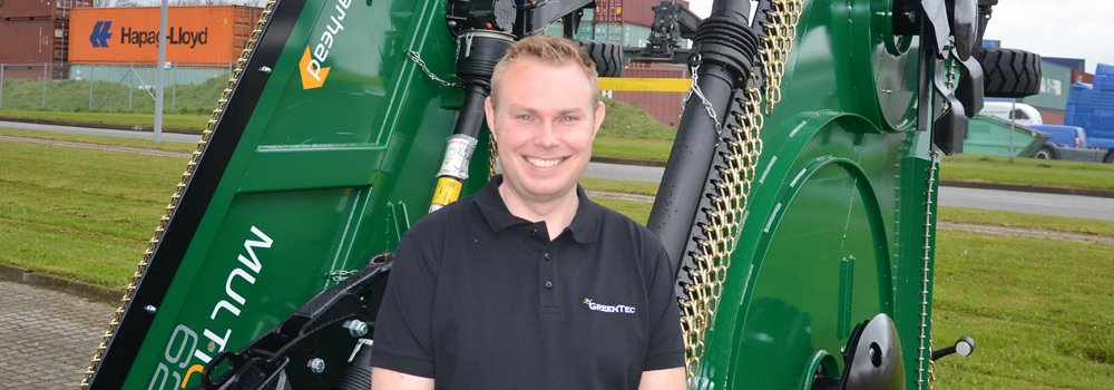 GreenTec is happy to announce that we have hired a new employee, Gabriel Lund, in Internal Sales