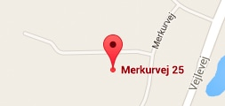 Our location on map