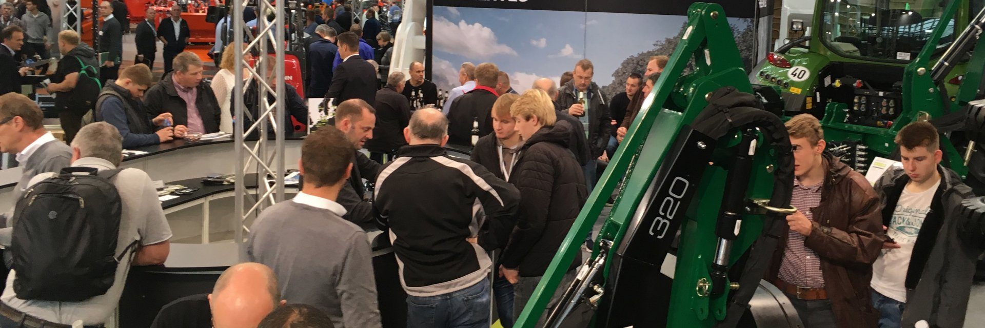 We would like to thank all that visited our booth at Agritechnica. We had many good talks with existing and new contacts and look forward to hearing from you again.