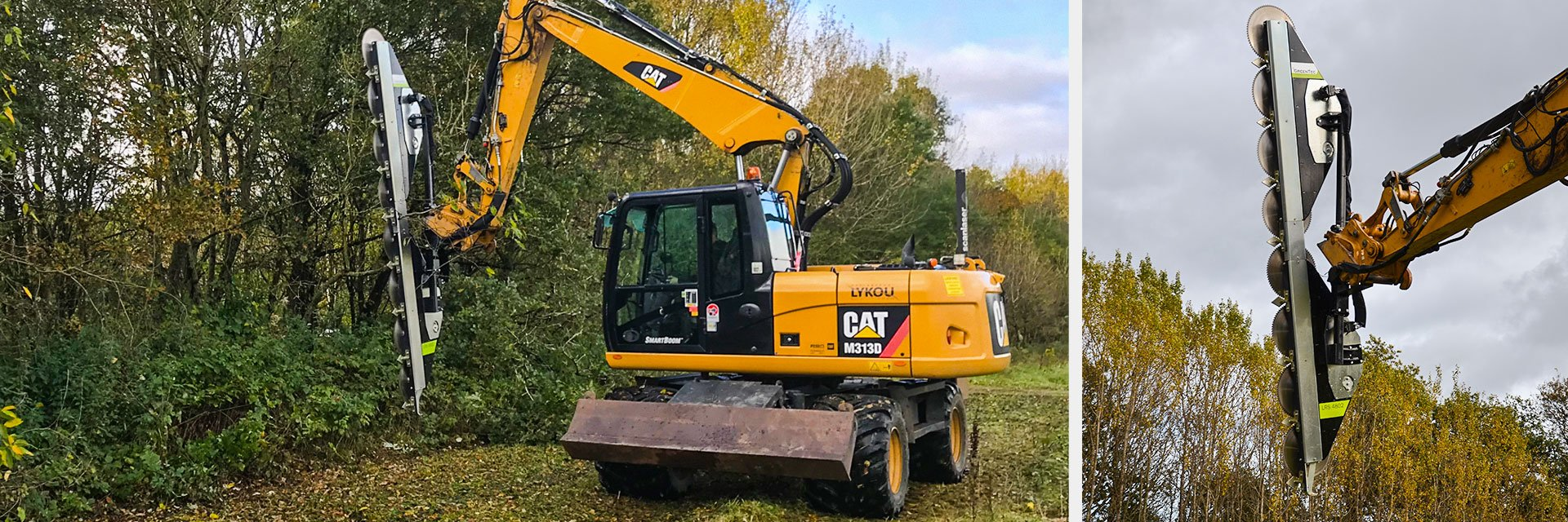 Huge capacity and efficiency for hedge cutting