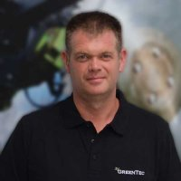 Greentec employee Karsten Work