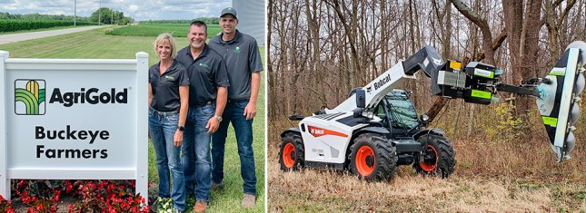 Congratulation to Buckeye Farmers on becoming the GreenTec dealer of the year!