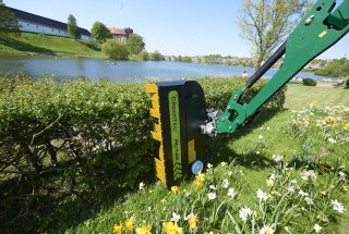 GreenTec presents THREE new Rotary Hedge Cutters