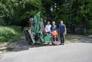 NEW DELIVERY OF REACH MOWERS FOR KOLDING MUNICIPALITY