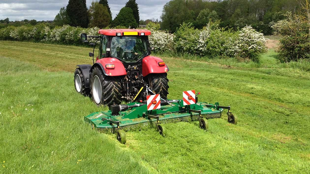 Rotary mower for tractor 86
