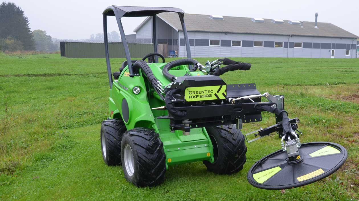 Fence Trimmer and Guardrail Mower Attachments