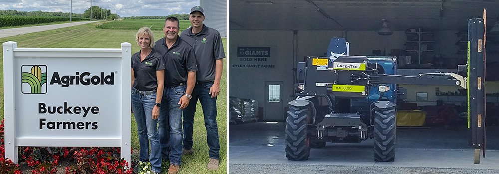 Buckeye Farmers is our new dealer in the US