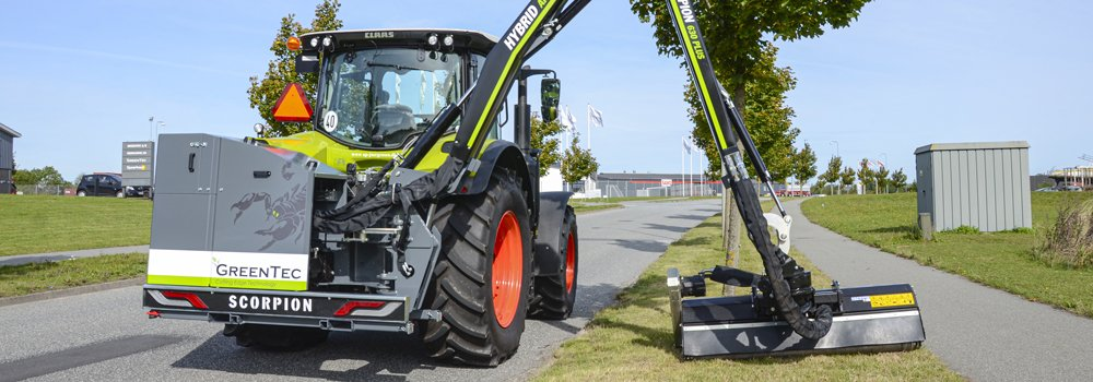 Scorpion boom mower wins a silver medal at Agritechnica
