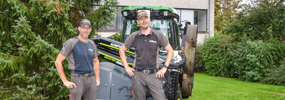 Danish contractor maintains green areas with GreenTec machines