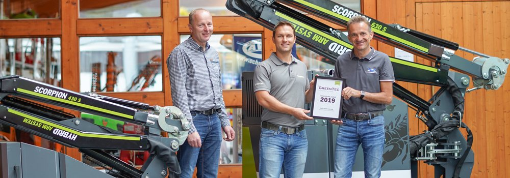 VOGT GmbH wins the dealer of the year award for the German market