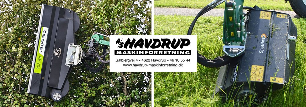 Oplev en demonstration af GreenTec og Spearhead Maskiner
