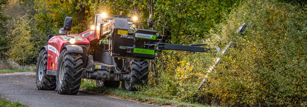 Contractor Kai Ruppel meets increased demand for hedge cutting and maintenance