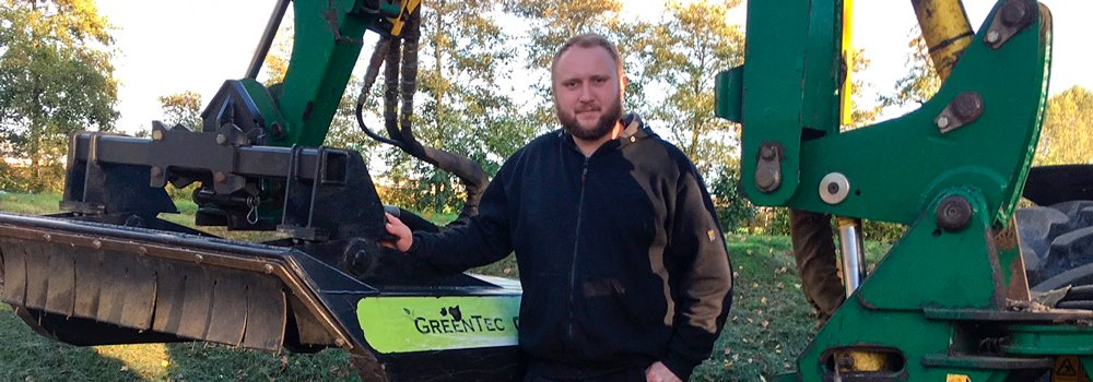 When you do business with GreenTec, you can expect quality machines - Michael Boldt Hansen