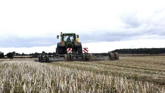 Stubble management with Stubble Master 730