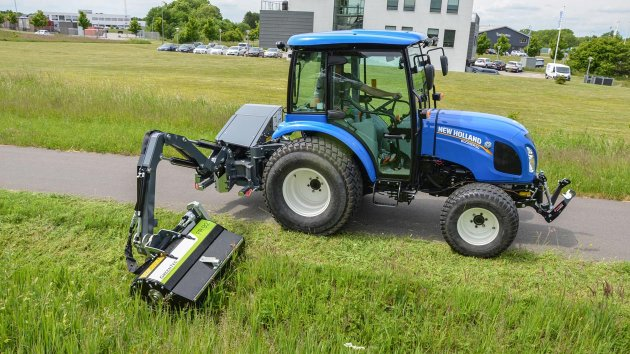 Professional ditch mowers for compact tractors