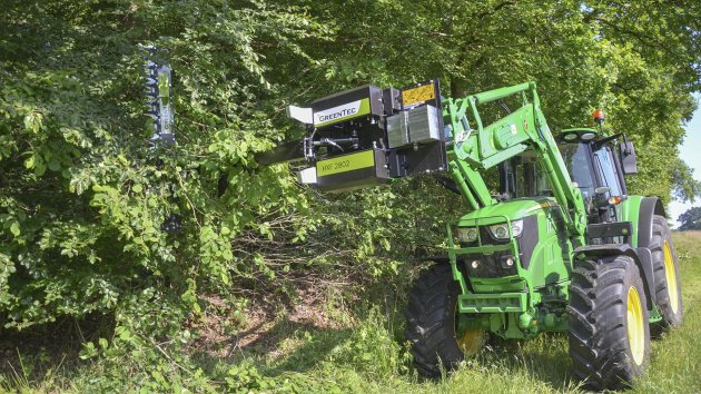 Limb cutter attachment for front end loader