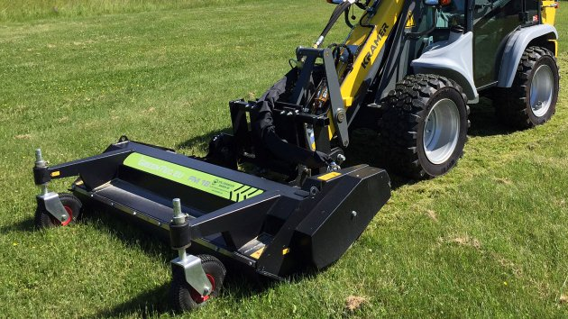 Skid steer flail mower