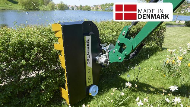 GreenTec Rotary Hedge Cutter RC 132