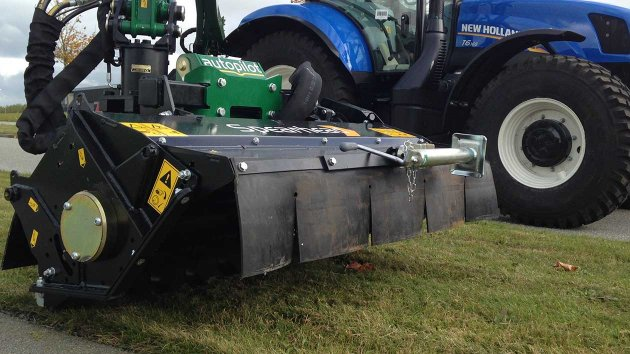 Flail mower attachment for tractor