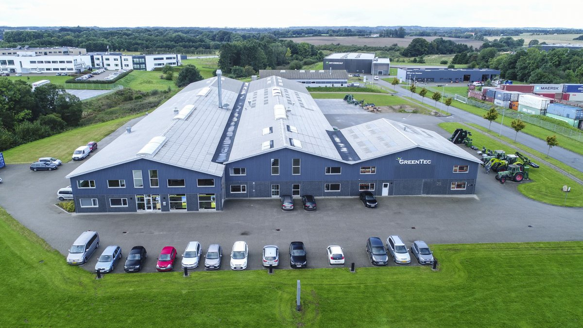 Manufacturing, development and office facilties at Merkurvej 25, 6000 Kolding