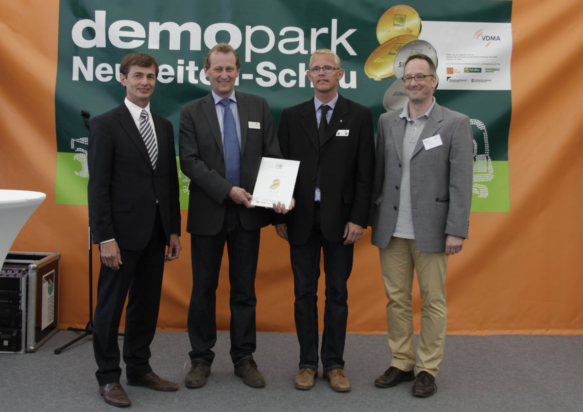 Gold medal at Demopark in Germany