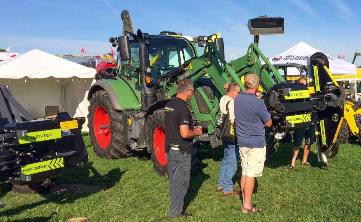 GreenTec at Outdoor Farm Show 2016