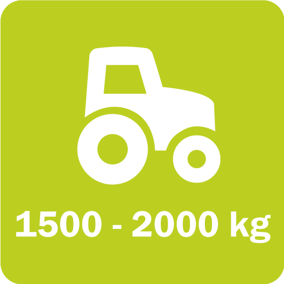 Scorpion 330 and 430 require a minimum vehicle weight of 1500 and 2000 kg (3,300 and 4,400 lb), respectively