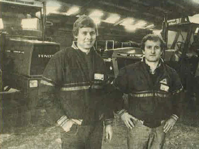 GreenTec was founded in 1979 by Karl Kørgen and Torben Speedtsbjerg